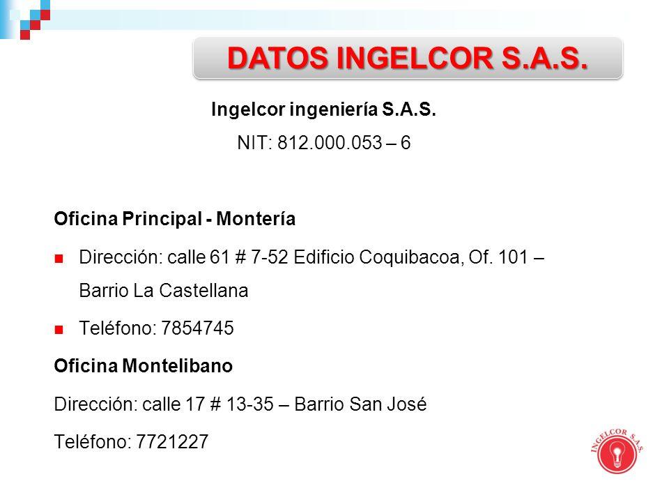 Ingelcor ingeniería S.A.S.