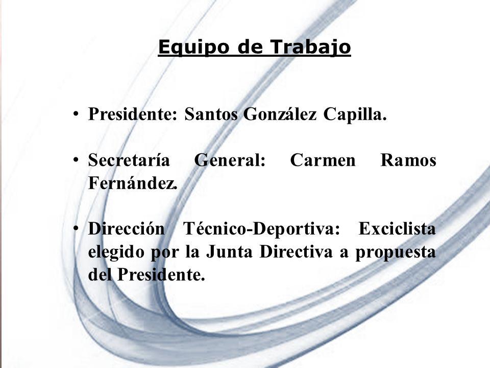Presidente: Santos González Capilla.