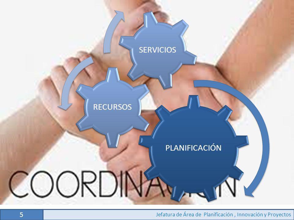 5 Jefatura de Área de Planificación , Innovación y Proyectos