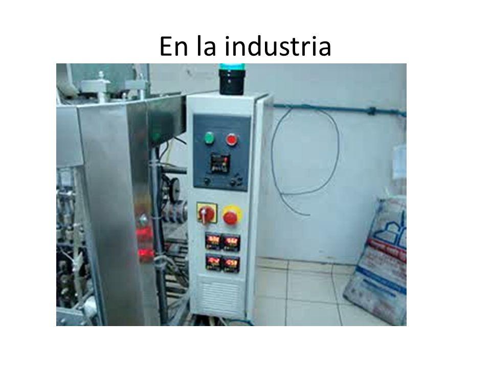 En la industria