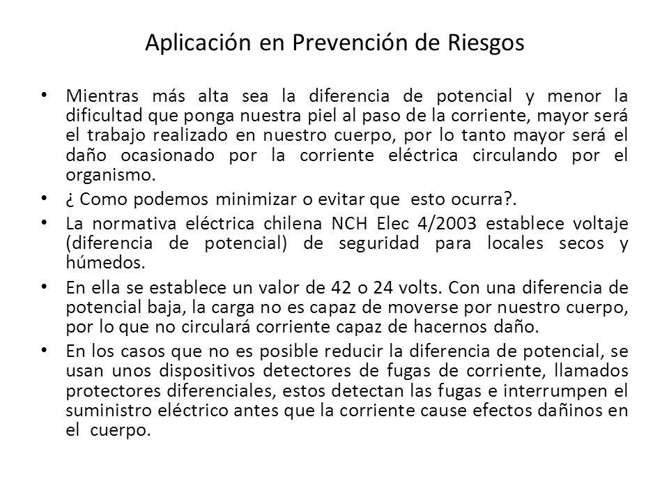 Aplicación en Prevención de Riesgos