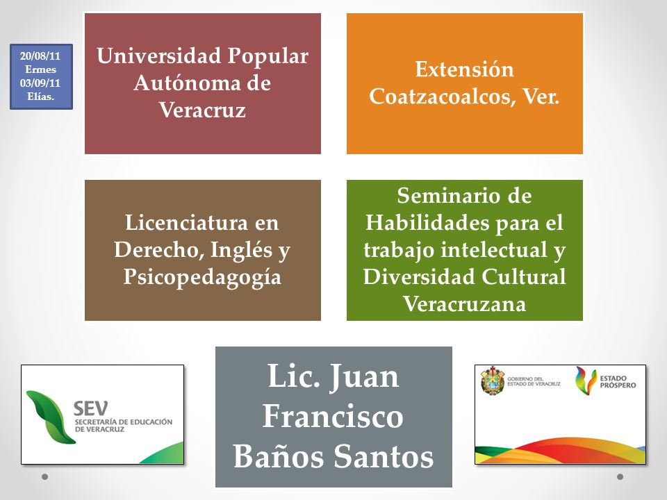 Lic. Juan Francisco Baños Santos