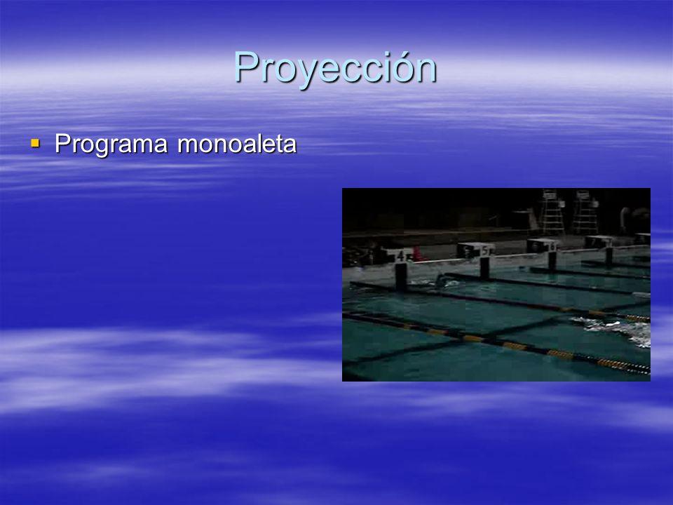 Proyección Programa monoaleta