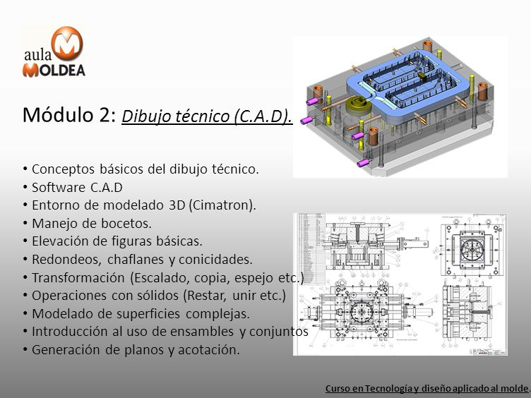 Módulo 2: Dibujo técnico (C.A.D).