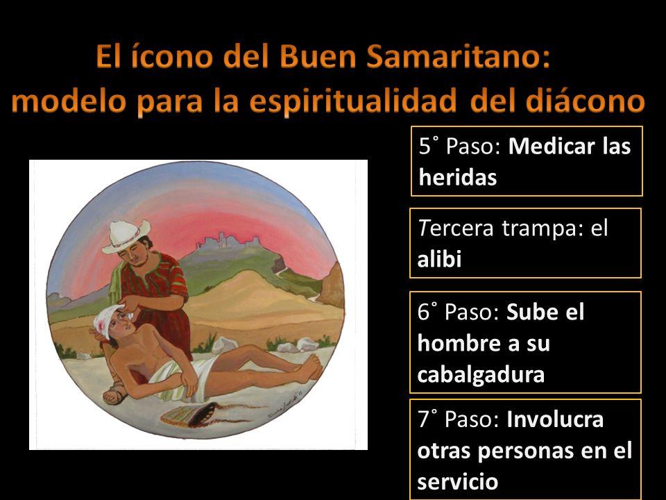 El ícono del Buen Samaritano: