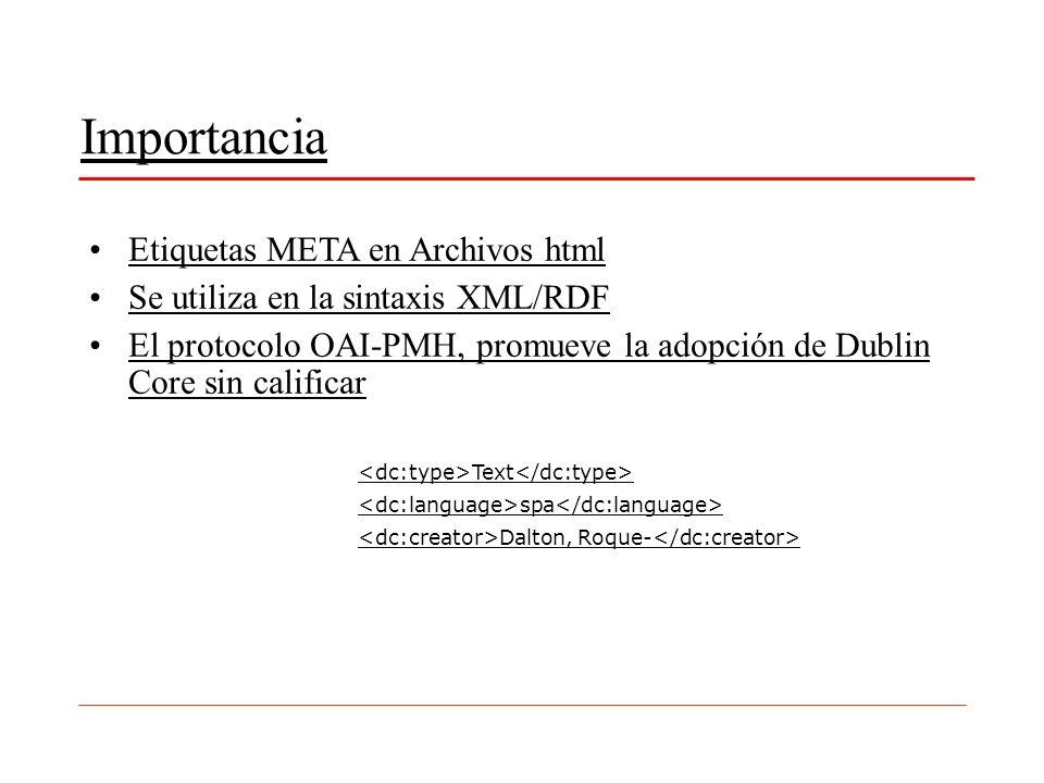 Importancia Etiquetas META en Archivos html