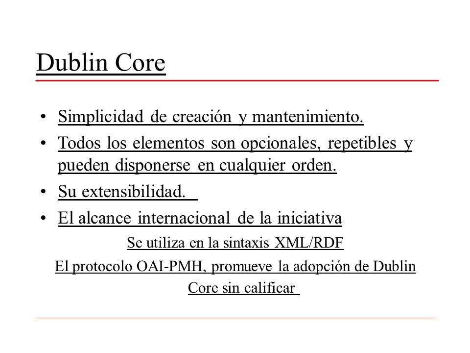 Se utiliza en la sintaxis XML/RDF