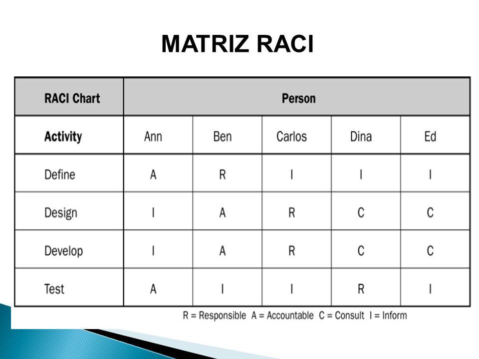 MATRIZ RACI