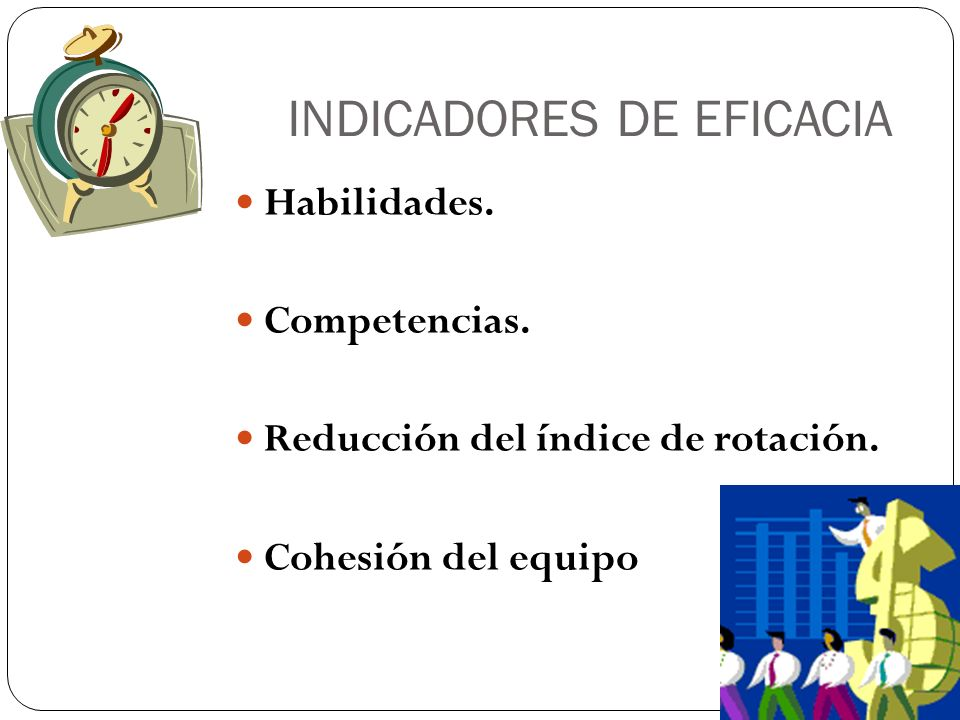 INDICADORES DE EFICACIA