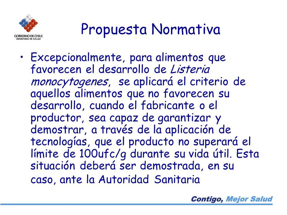 Propuesta Normativa