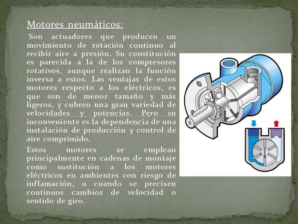 Motores neumáticos: