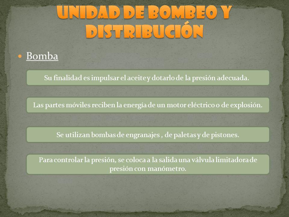 UNIDAD DE BOMBEO Y DISTRIBUCIÓN