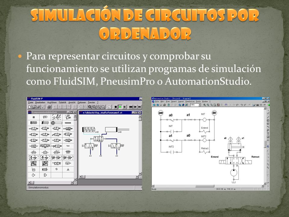 SIMULACIÓN DE CIRCUITOS POR ORDENADOR