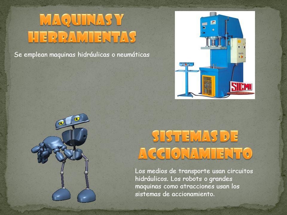 MAQUINAS Y HERRAMIENTAS SISTEMAS DE ACCIONAMIENTO