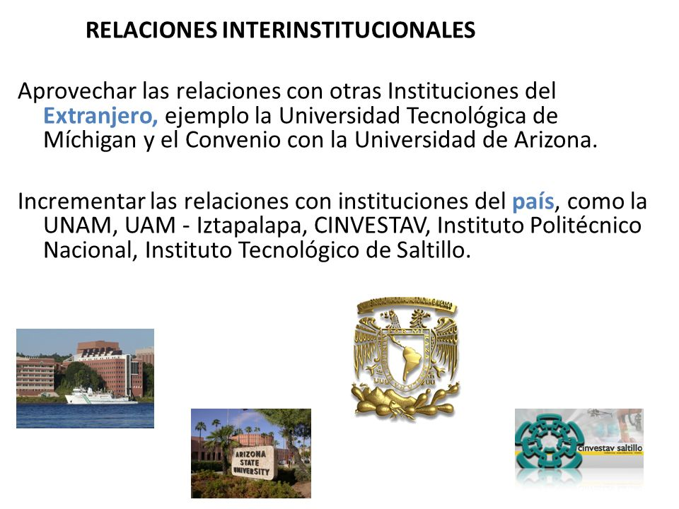 RELACIONES INTERINSTITUCIONALES