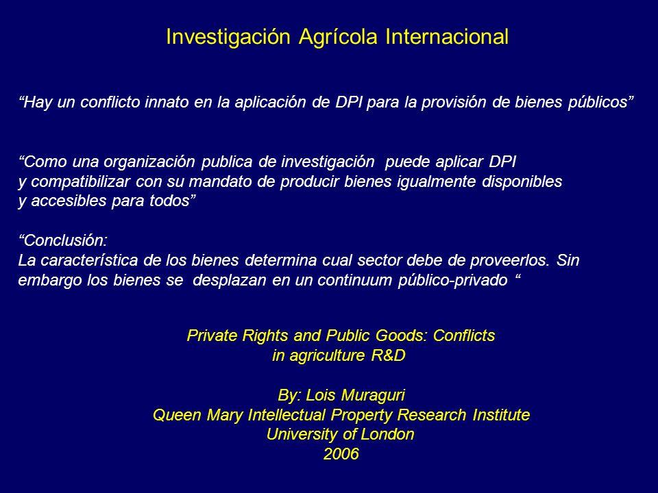 Investigación Agrícola Internacional