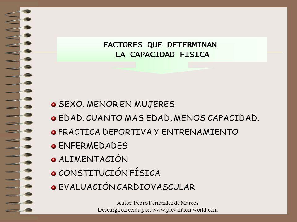 FACTORES QUE DETERMINAN