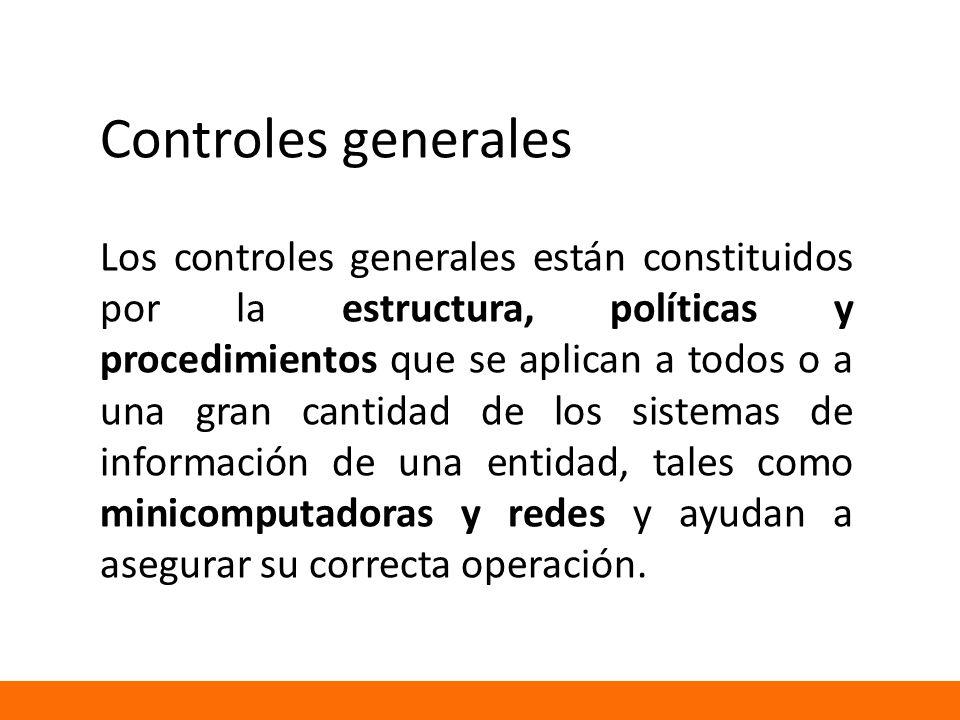 Controles generales