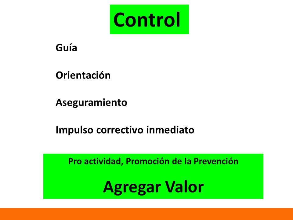 Pro actividad, Promoción de la Prevención
