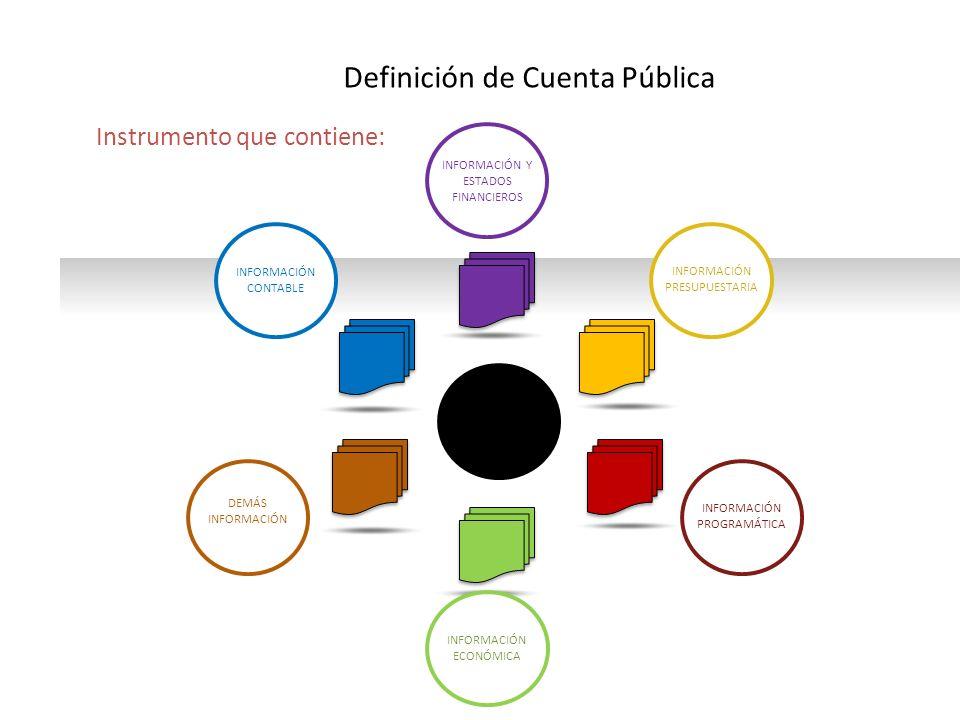 Definición de Cuenta Pública