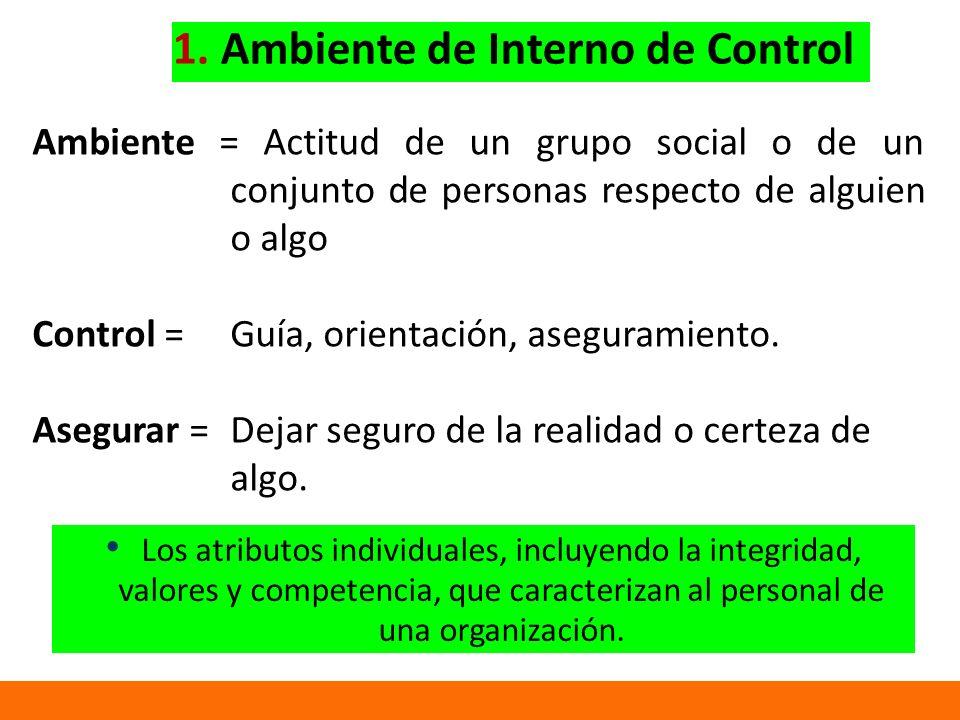 1. Ambiente de Interno de Control