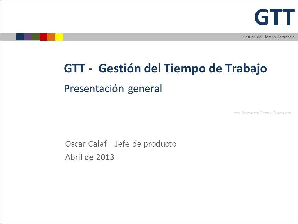 GTT - Gestión del Tiempo de Trabajo