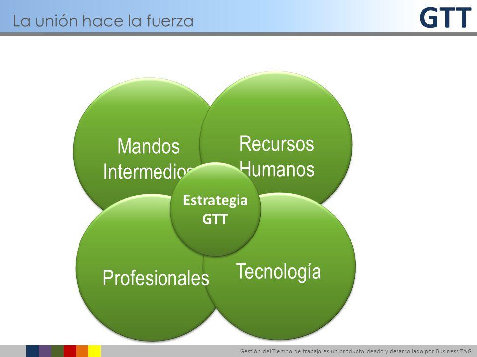 Recursos Mandos Humanos Intermedios Tecnología Profesionales