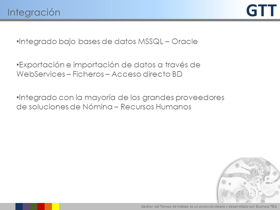 Integración Integrado bajo bases de datos MSSQL – Oracle