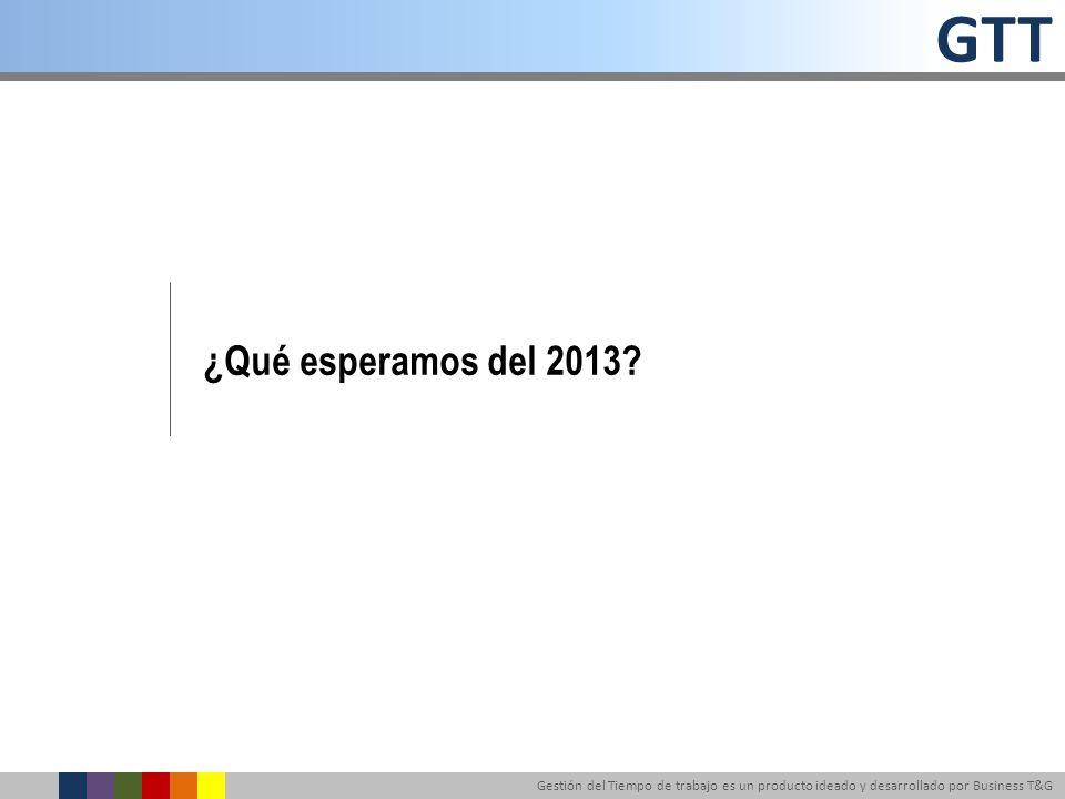 ¿Qué esperamos del 2013