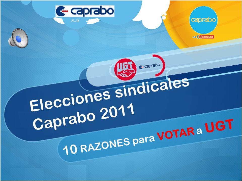 Elecciones sindicales Caprabo 2011