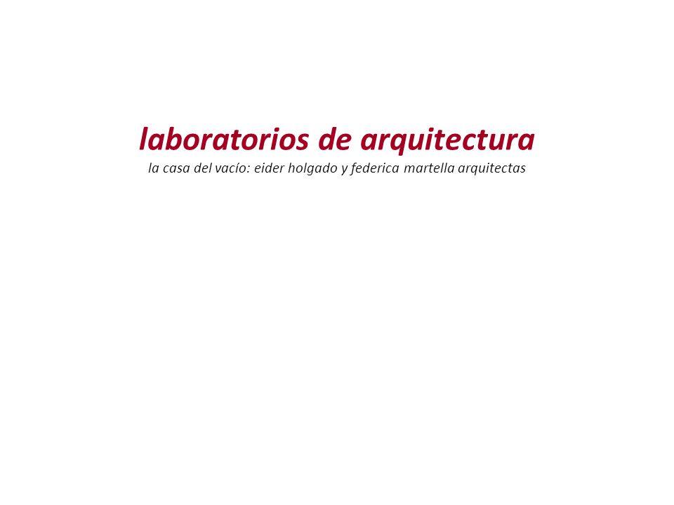 laboratorios de arquitectura