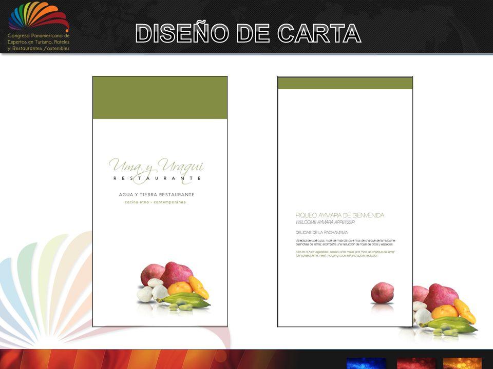 DISEÑO DE CARTA