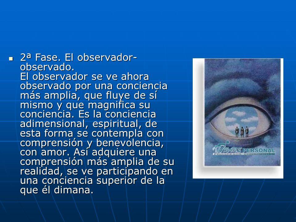 2ª Fase. El observador-observado