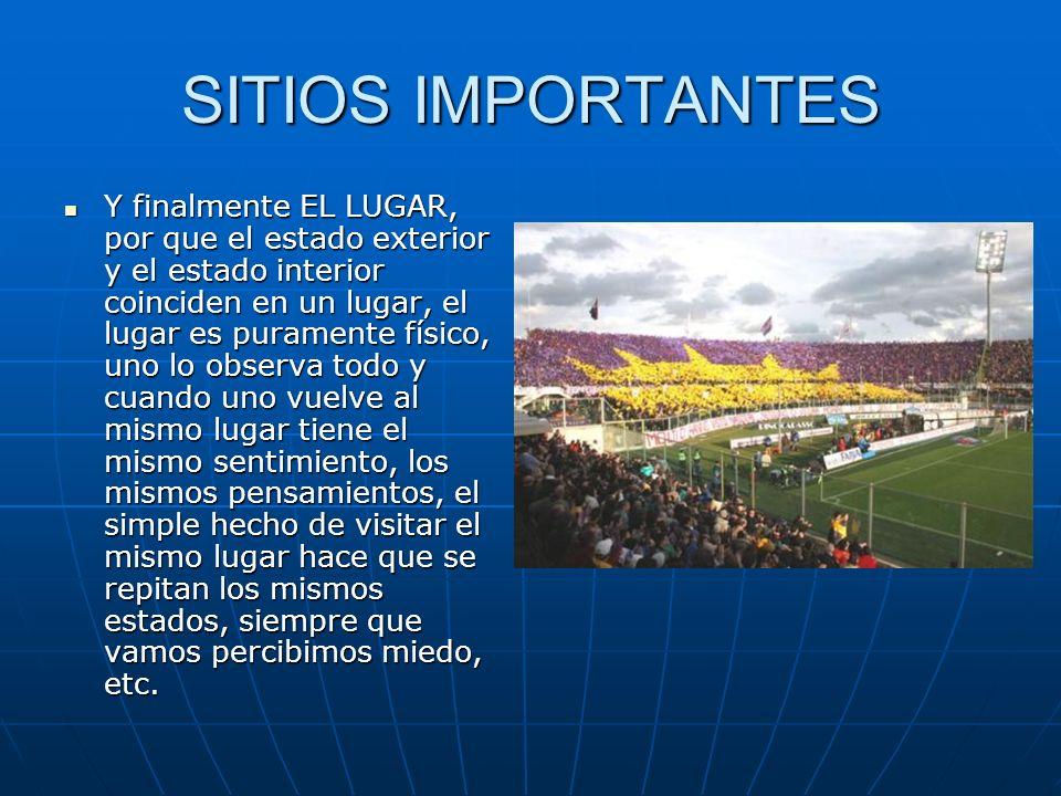 SITIOS IMPORTANTES