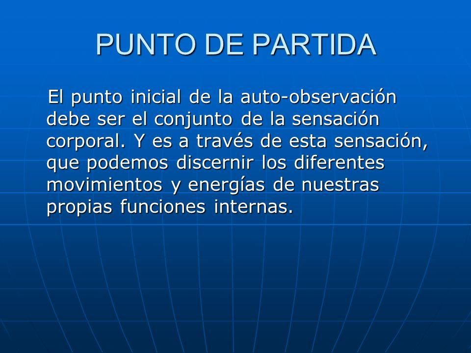 PUNTO DE PARTIDA