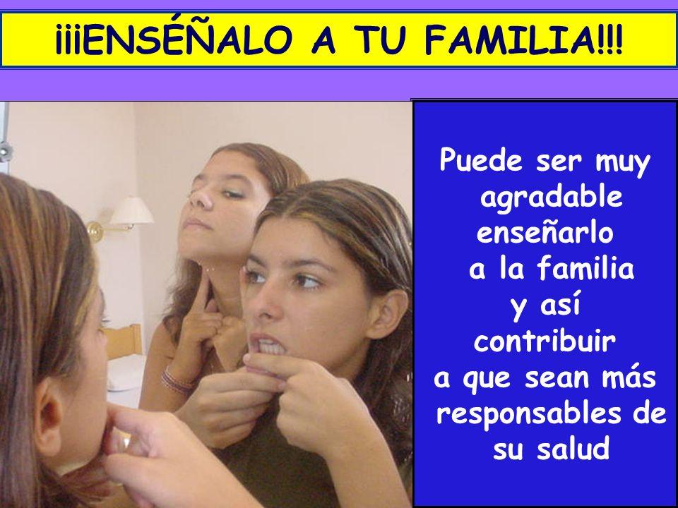 ¡¡¡ENSÉÑALO A TU FAMILIA!!!