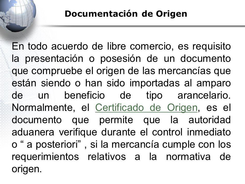 Documentación de Origen