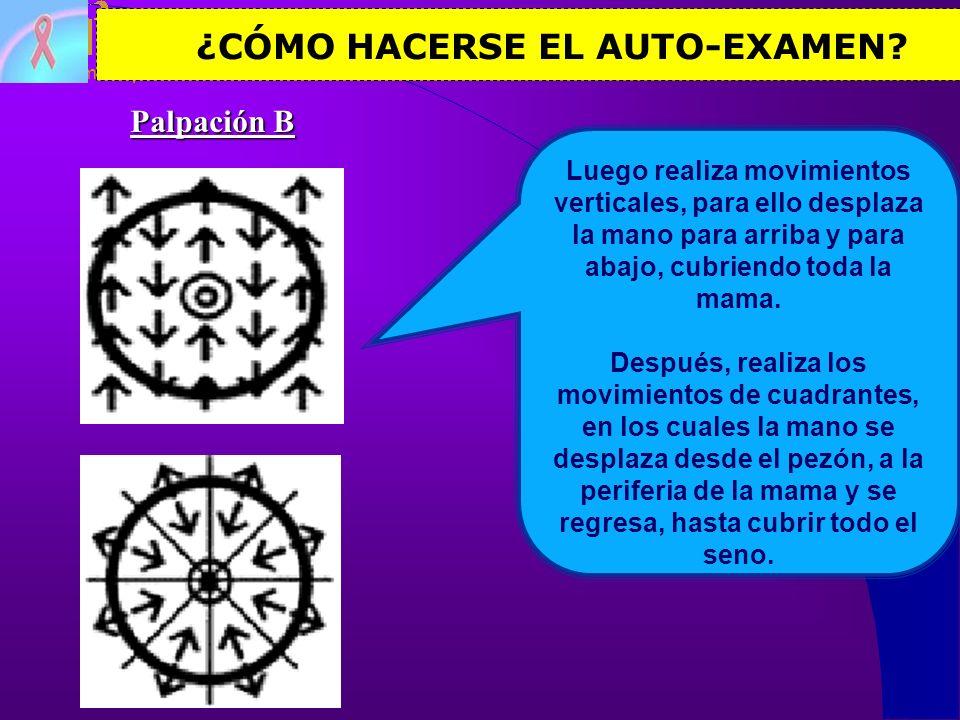 ¿CÓMO HACERSE EL AUTO-EXAMEN