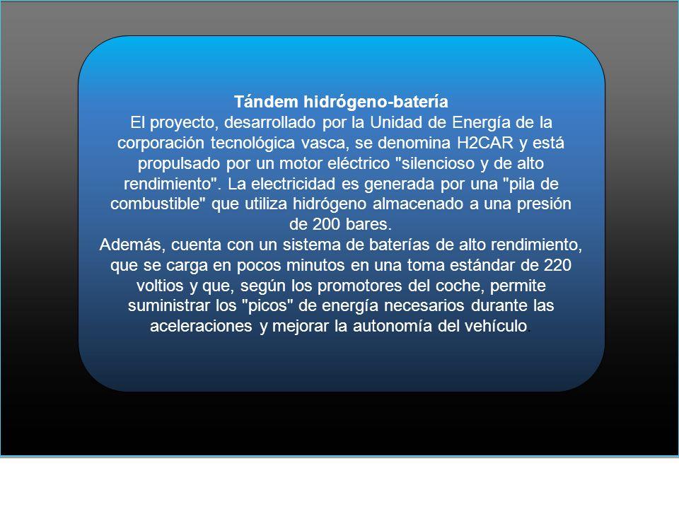 Tándem hidrógeno-batería