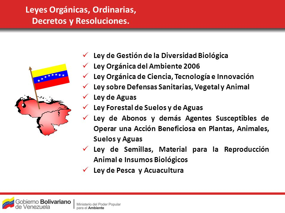 Leyes Orgánicas, Ordinarias, Decretos y Resoluciones.