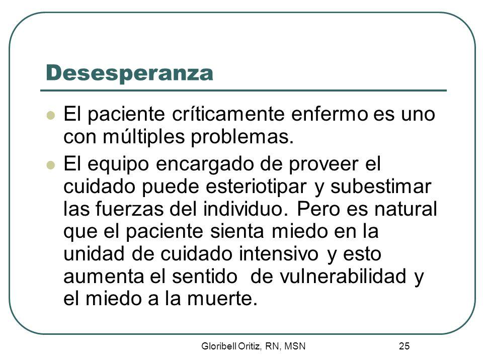 Gloribell Oritiz, RN, MSN