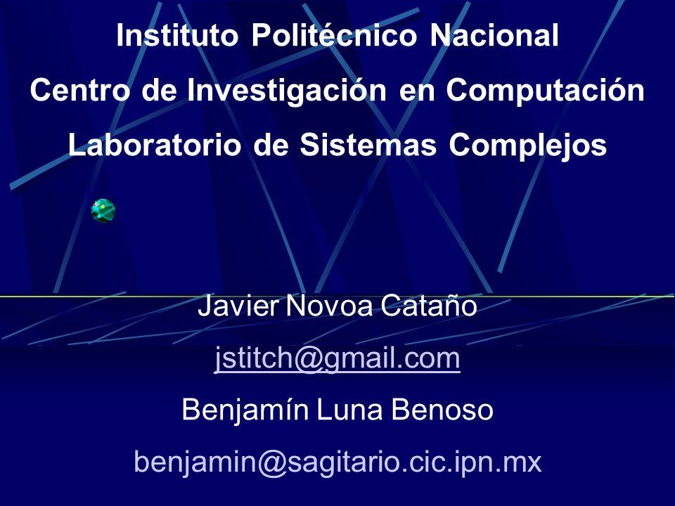 Instituto Politécnico Nacional Centro de Investigación en Computación