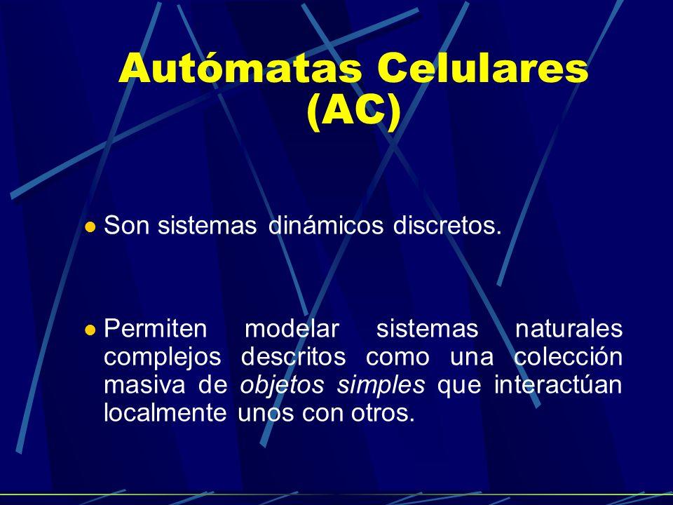 Autómatas Celulares (AC)
