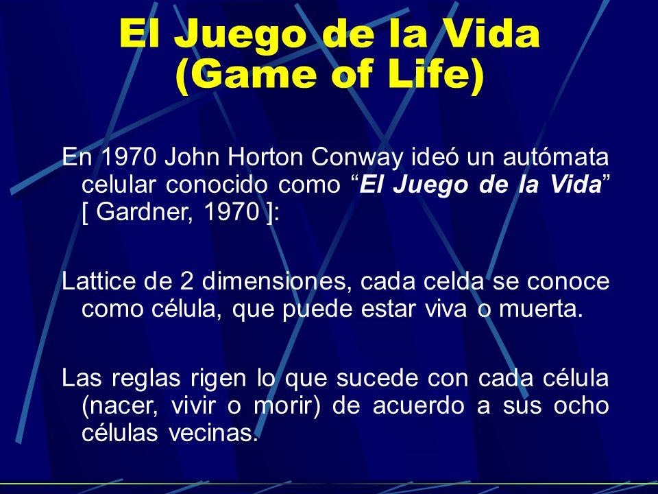 El Juego de la Vida (Game of Life)