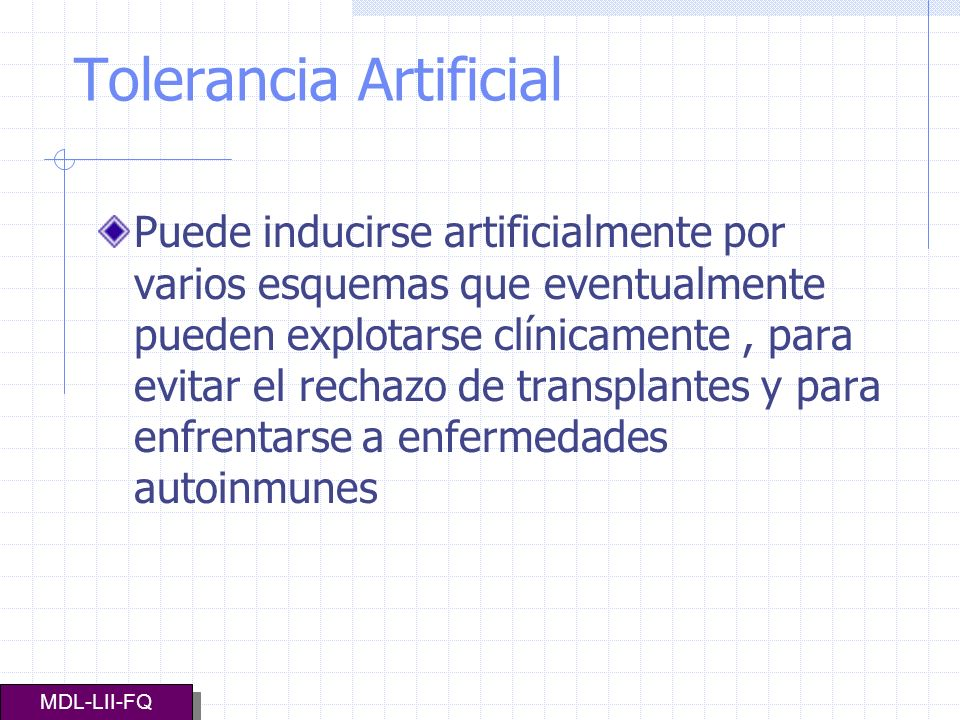 Tolerancia Artificial