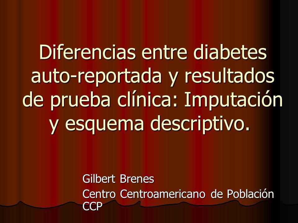 Gilbert Brenes Centro Centroamericano de Población CCP