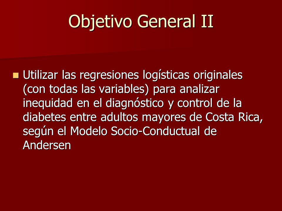 Objetivo General II