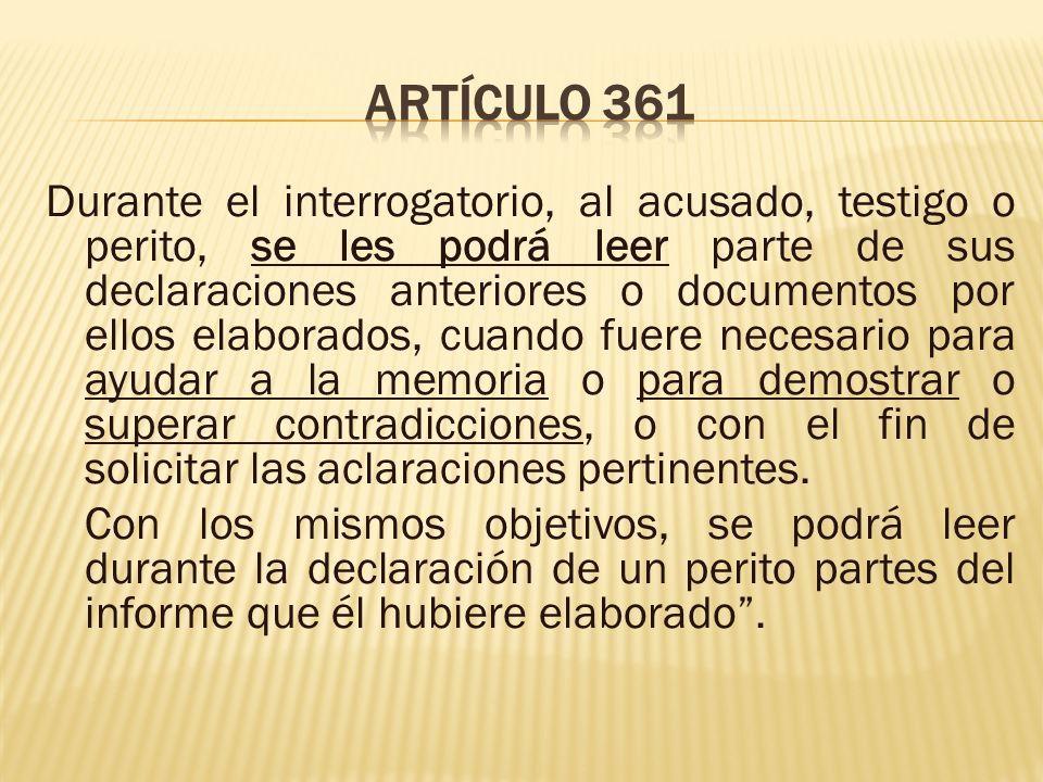 Artículo 361