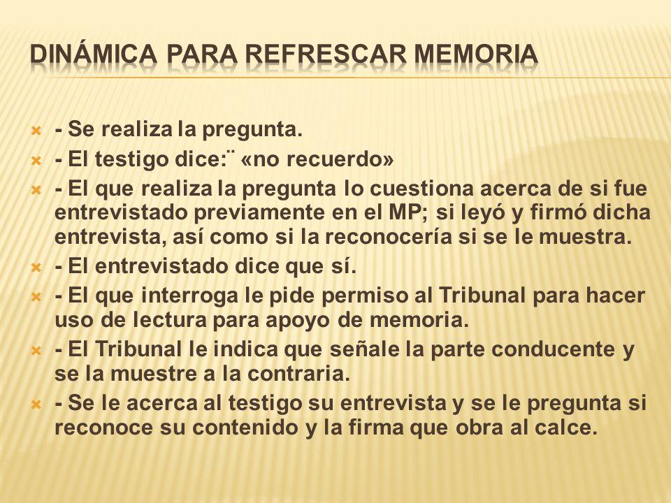 DINÁMICA PARA REFRESCAR MEMORIA