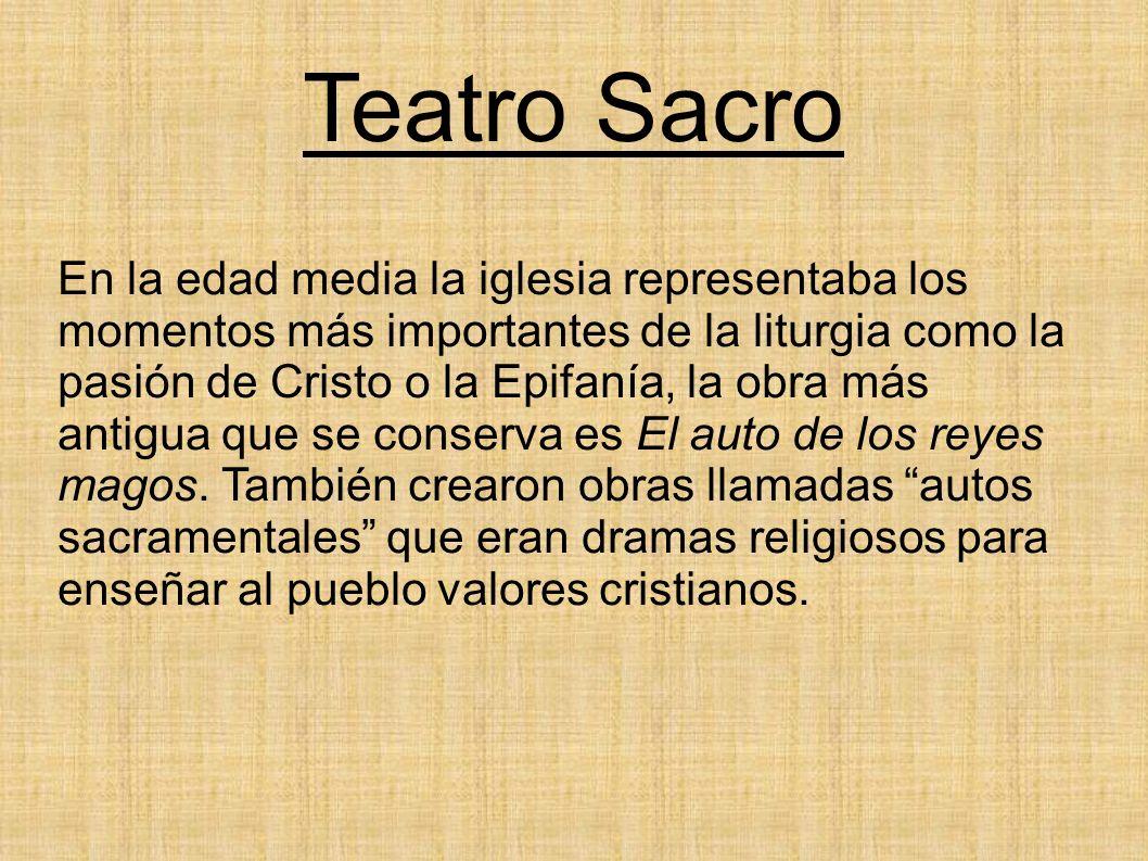 Teatro Sacro